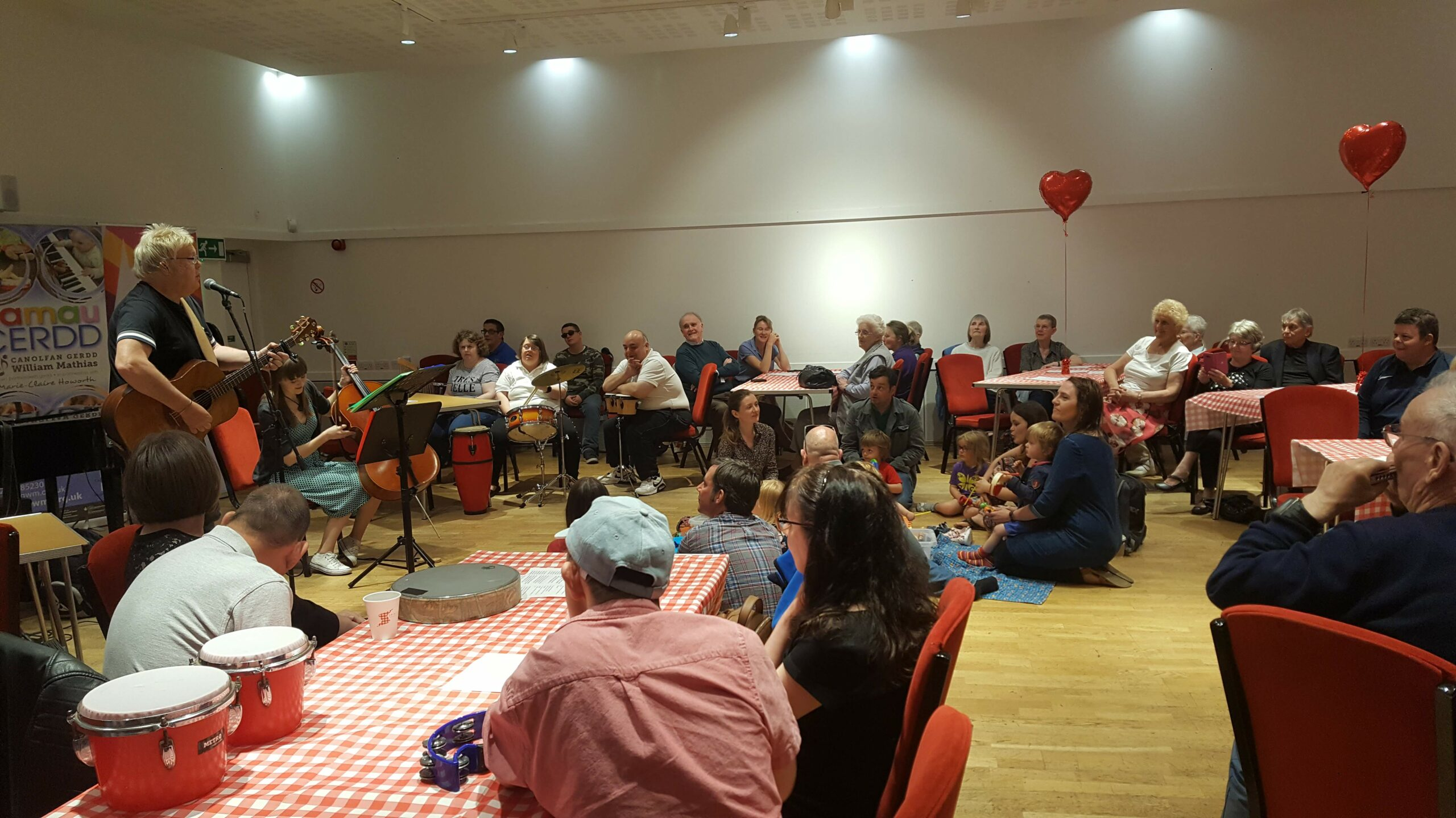 Bore o hwyl – The Great Get Together